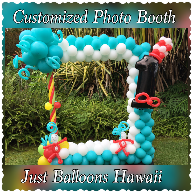 photo balloon frame just balloons hawaii 808 329 1130 808 854 1593